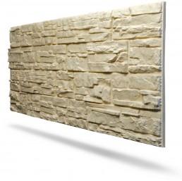 Pannello in polistirolo finta pietra decorativa per interni for Finta pietra in polistirolo